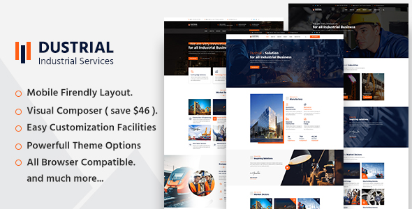 Dustrial WordPress Theme